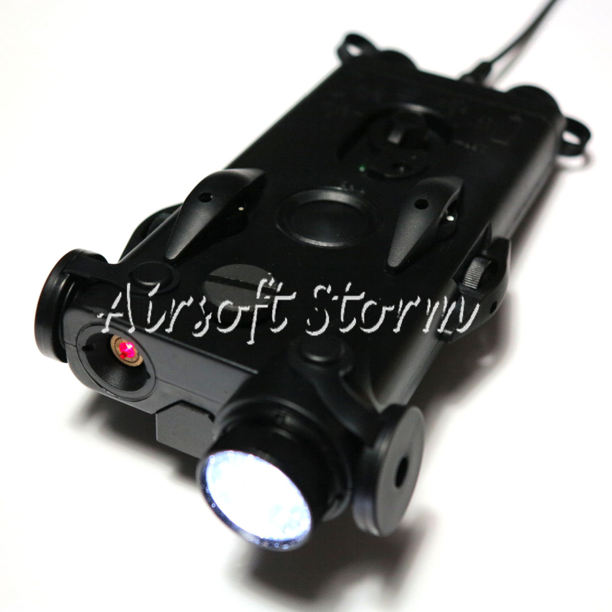 G&P PEQ 2 with Red Laser & CREE LED Flashlight Black GP467A