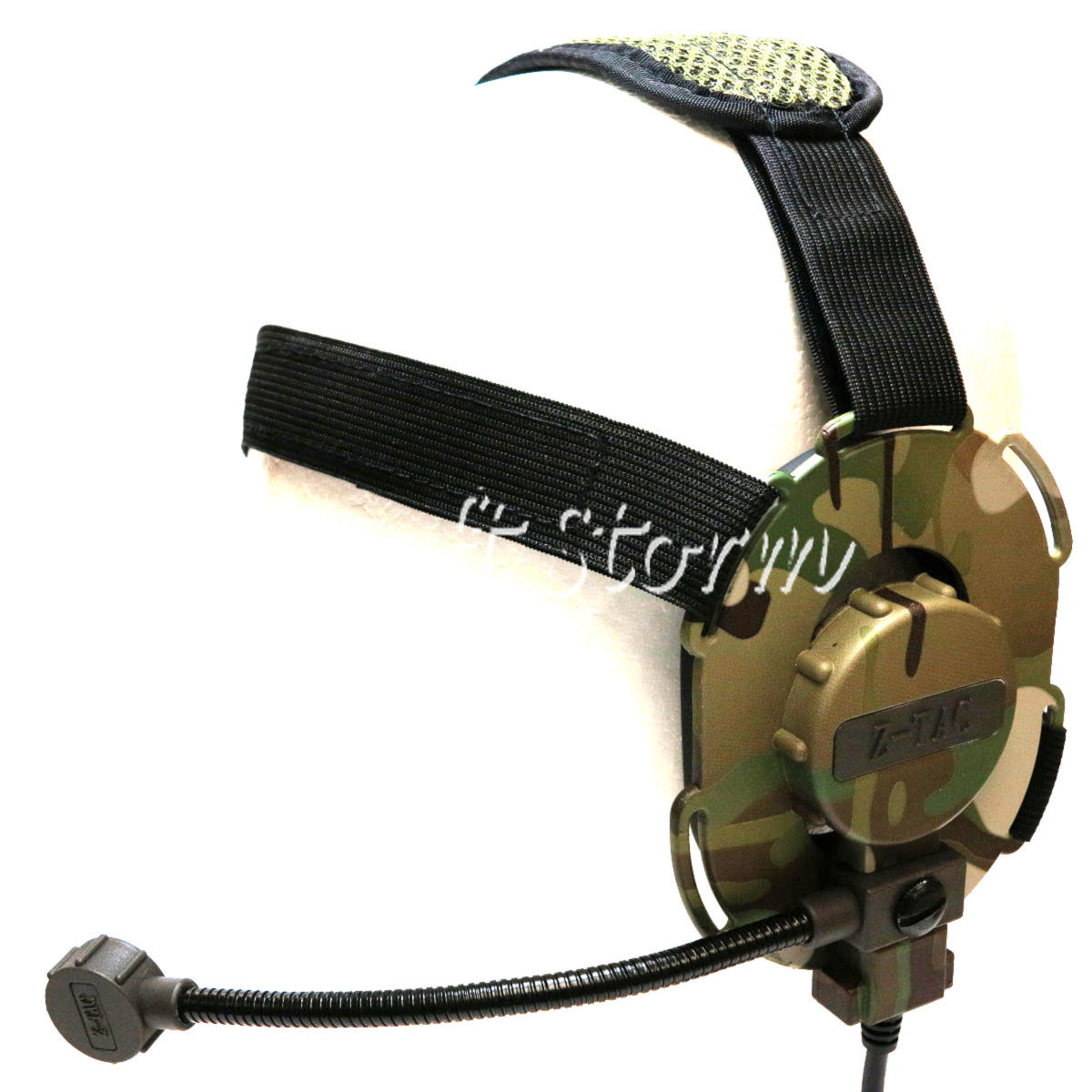Airsoft Gear SWAT Z Tactical Bowman EVO III Style Headset Multi Camo