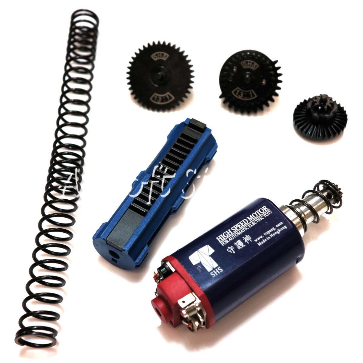 Airsoft Tactical Gear SHS-314 High Speed Motor & Gear Tune-Up Set for M4 AEG