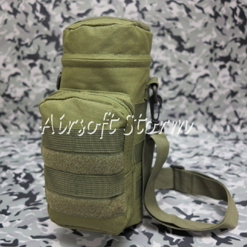Airsoft SWAT Tactical Molle Water Bottle Utility Medic Pouch Olive Drab OD