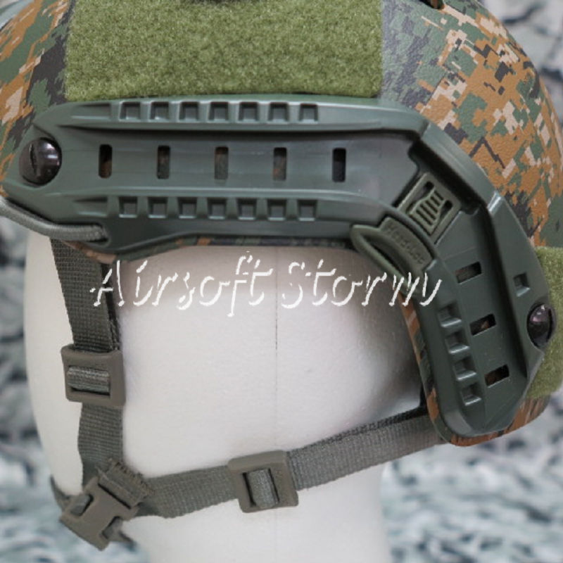 Airsoft SWAT Tactical Gear ARC Helmet Rail for MICH/ACH/PASGT Helmet Olive Drab OD