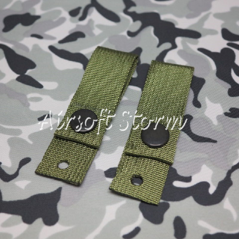 Airsoft SWAT Tactical Gear Helmet Universal Goggle Retention Straps Olive Drab OD
