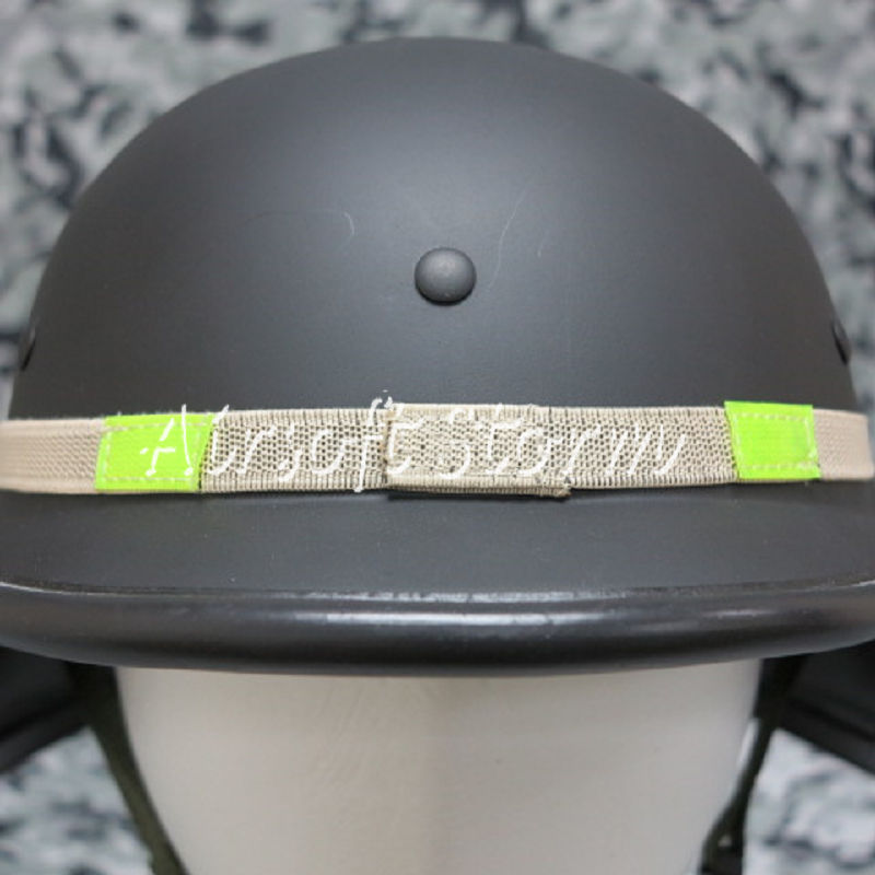 US MIL-SPEC Helmet Reflective Cat-Eyes Band Desert Tan PASGT MICH